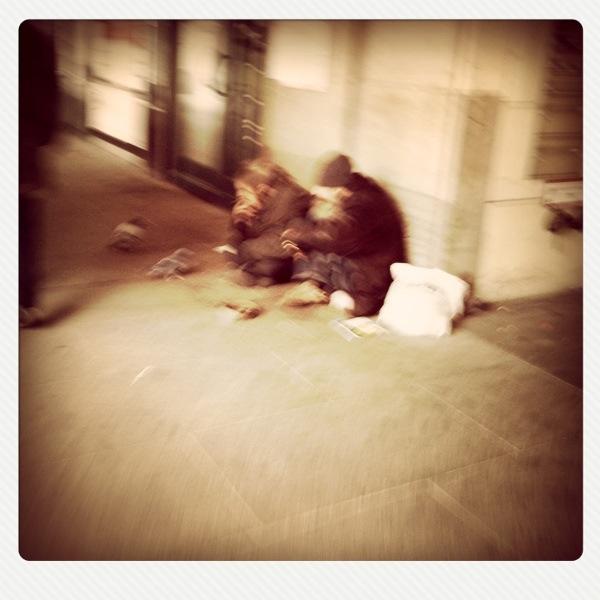 slurred homeless