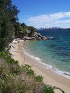 Small beach in Sydney area