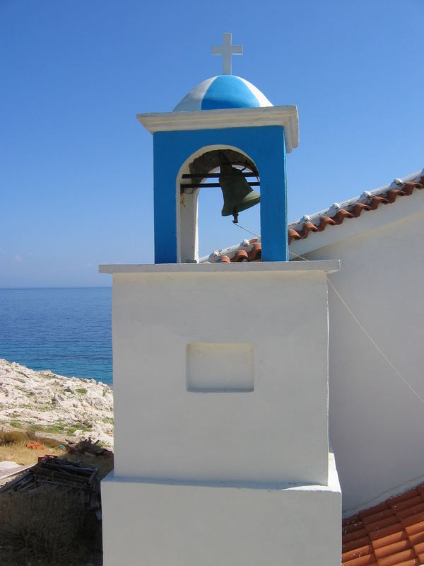 small chappel at Samos, Greece