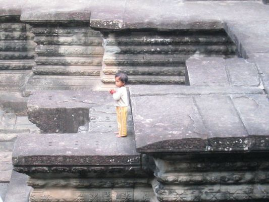 small child from Angkor Wat
