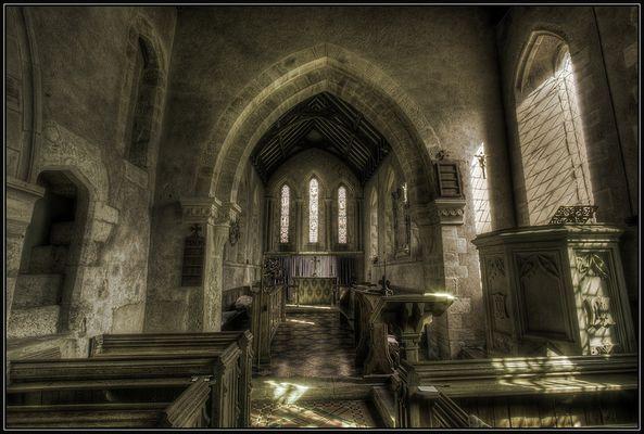 small church - Little Rissington (England)