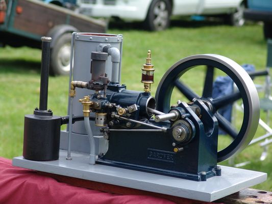 Small Gardner Steam Engine