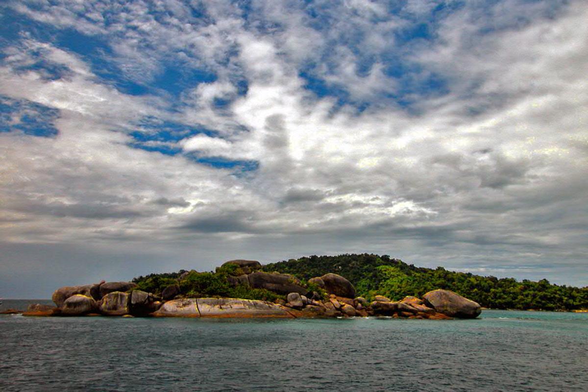 Small island in Mergui Archipelago
