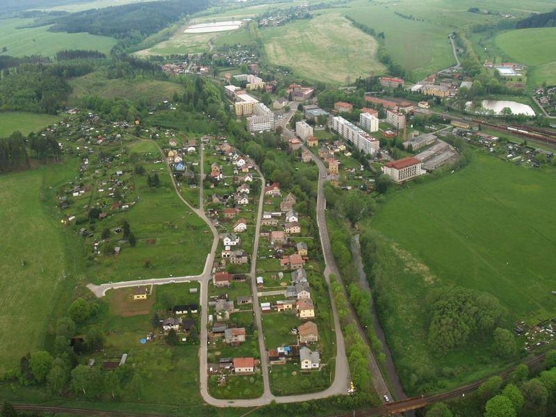 small town-Mezimesti