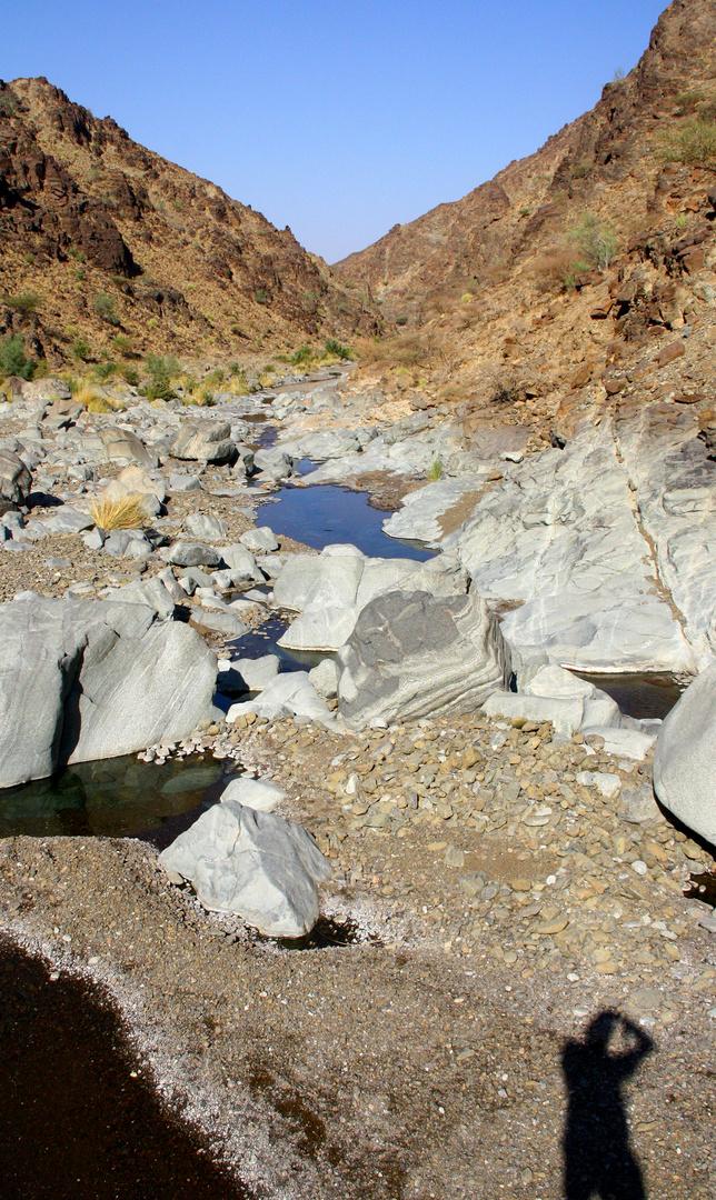 small Wadi in Oman