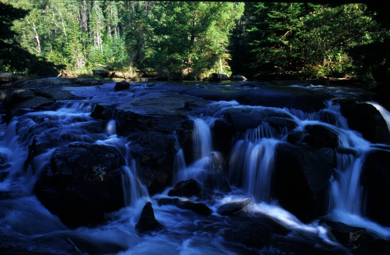 Small Waterfall in Algonquin