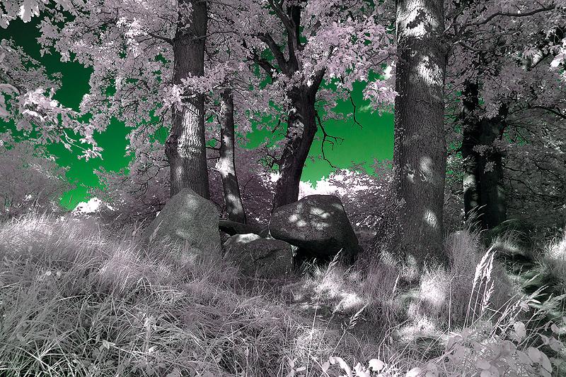 """Smaragd- See"" im Land der Hünengräber"