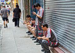 Smartphoner in Hongkong
