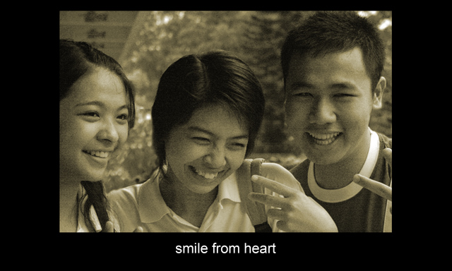 smile fromm heart