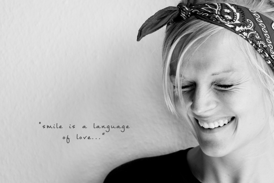 Smile is a language of love