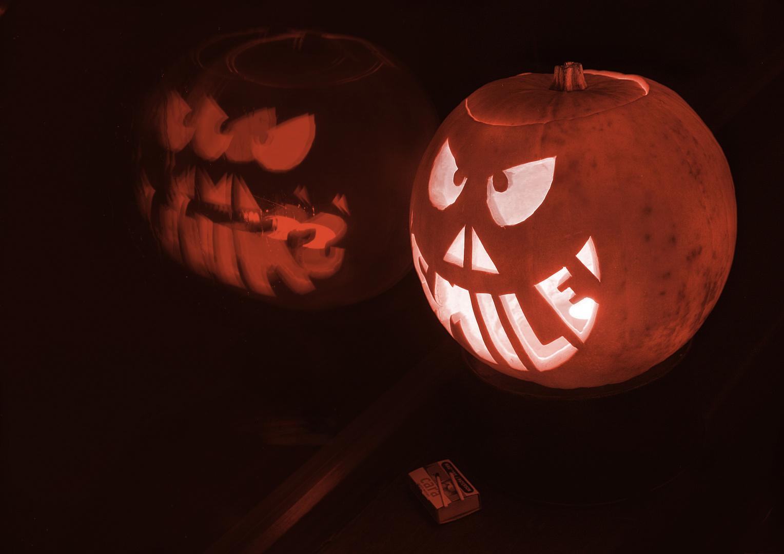 Smile it's Halloween