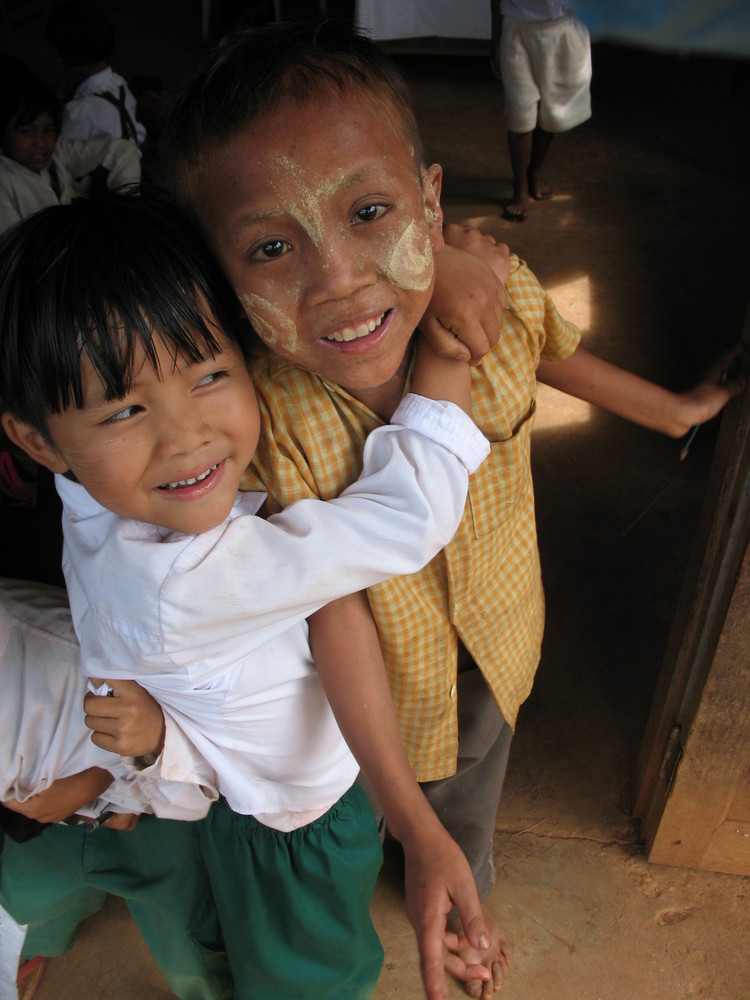 Smiles from Burma