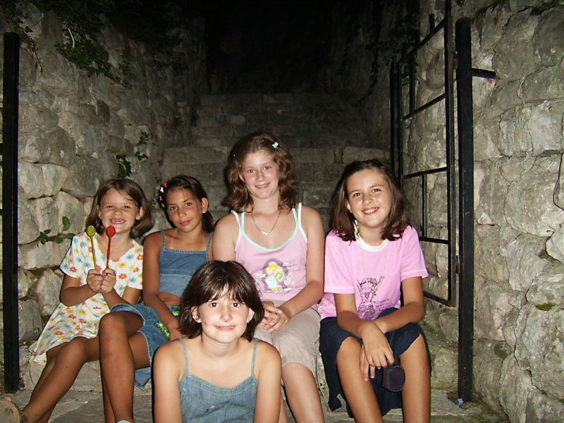 Smiling youth of Kotor