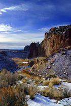 Smith Rocks im Winter