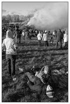 Smog oder mögliche Auswirkungen des Osterfeuers