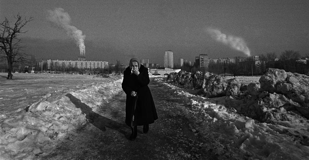 Smog über Moskau
