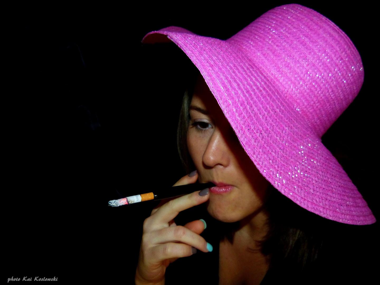 smoke-in lady like