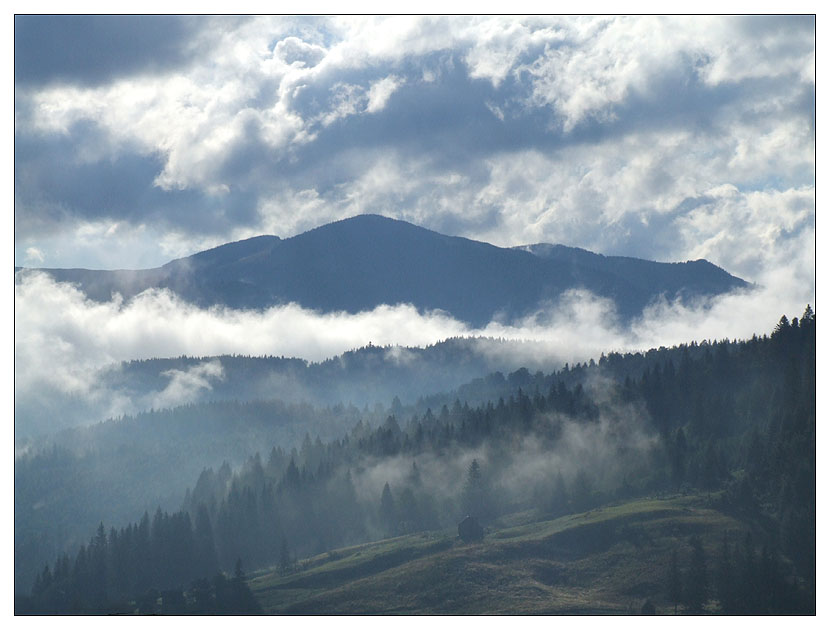 """""""smoke on the mountains"""""""