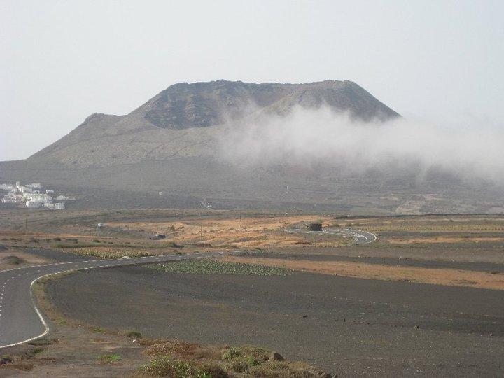 smoke on the volcano