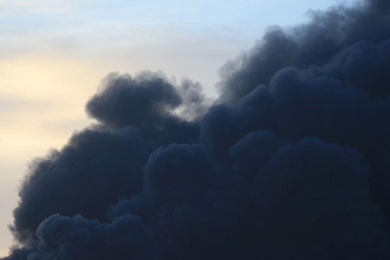 smoke to the skies