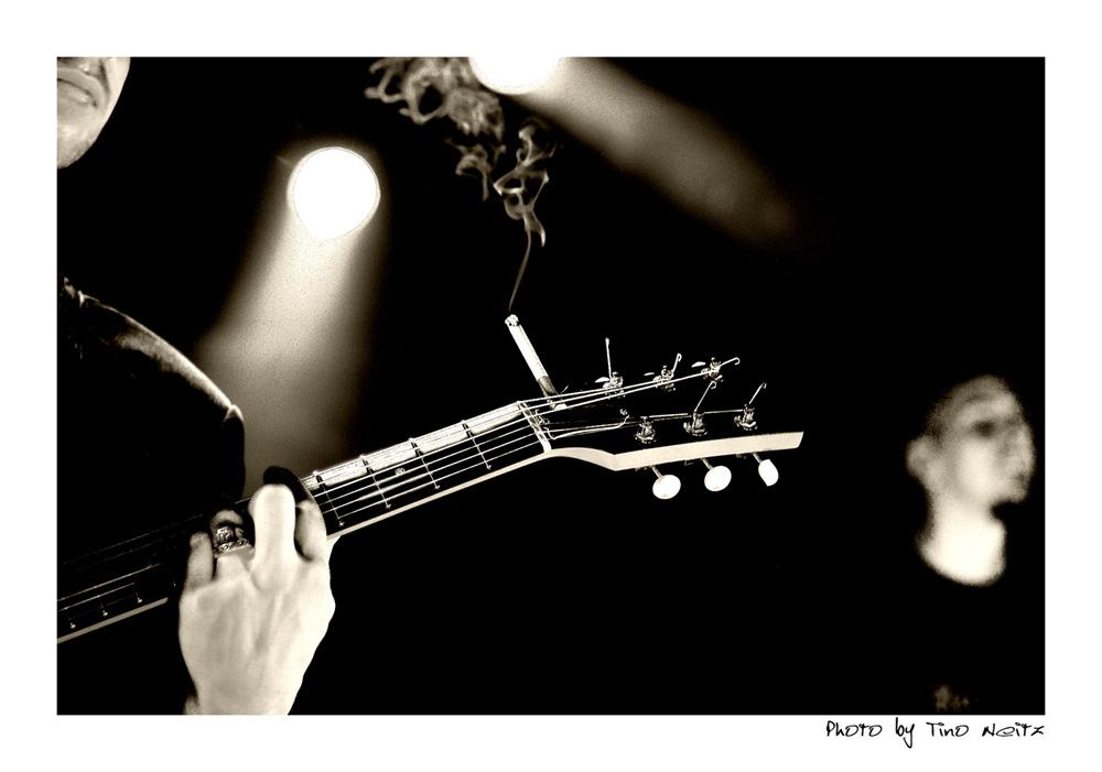 smokin´ guitar