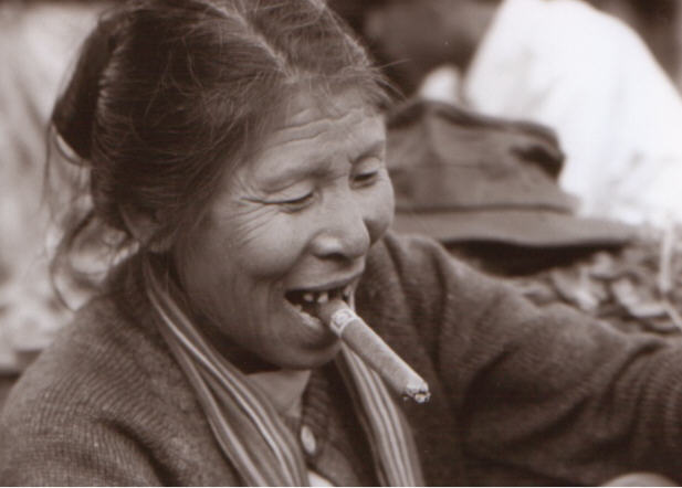 Smoking Cheroot, Kalaw