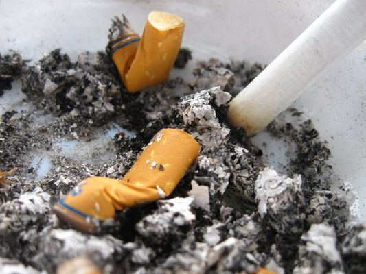 Smoking is not very good !