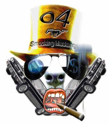 Smoking Mustang3