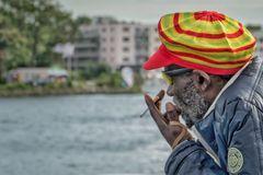 Smoking on the water