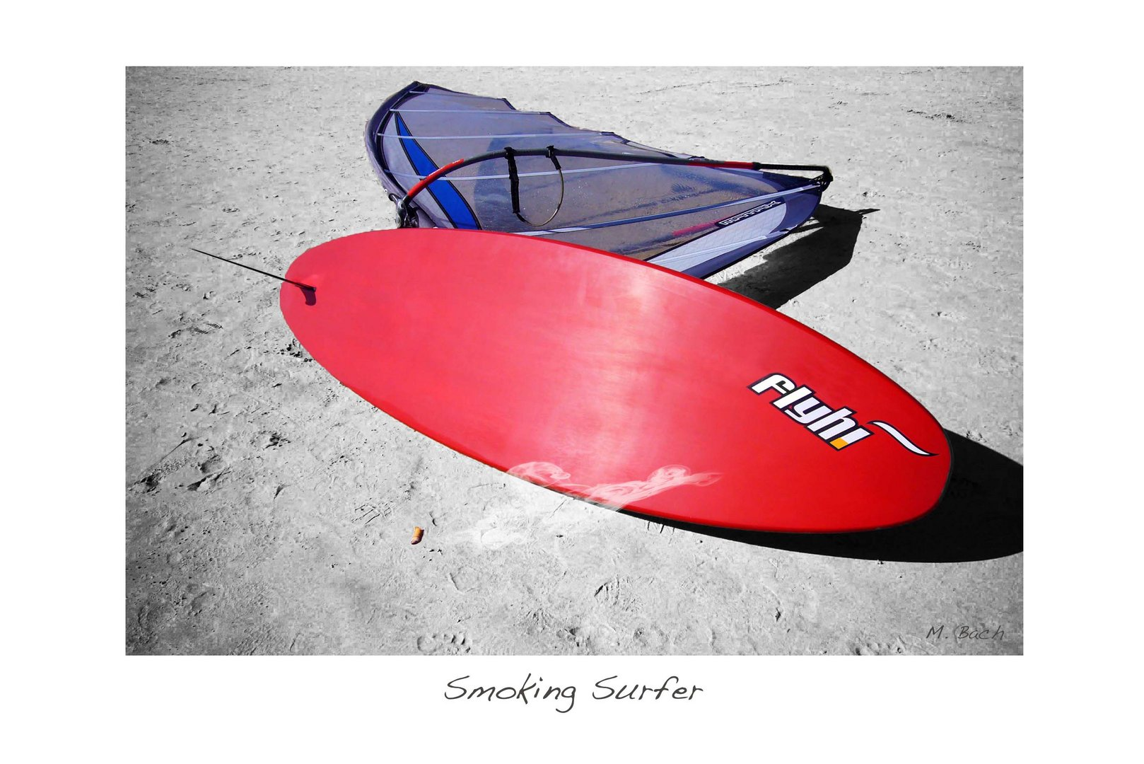 smoking surfer