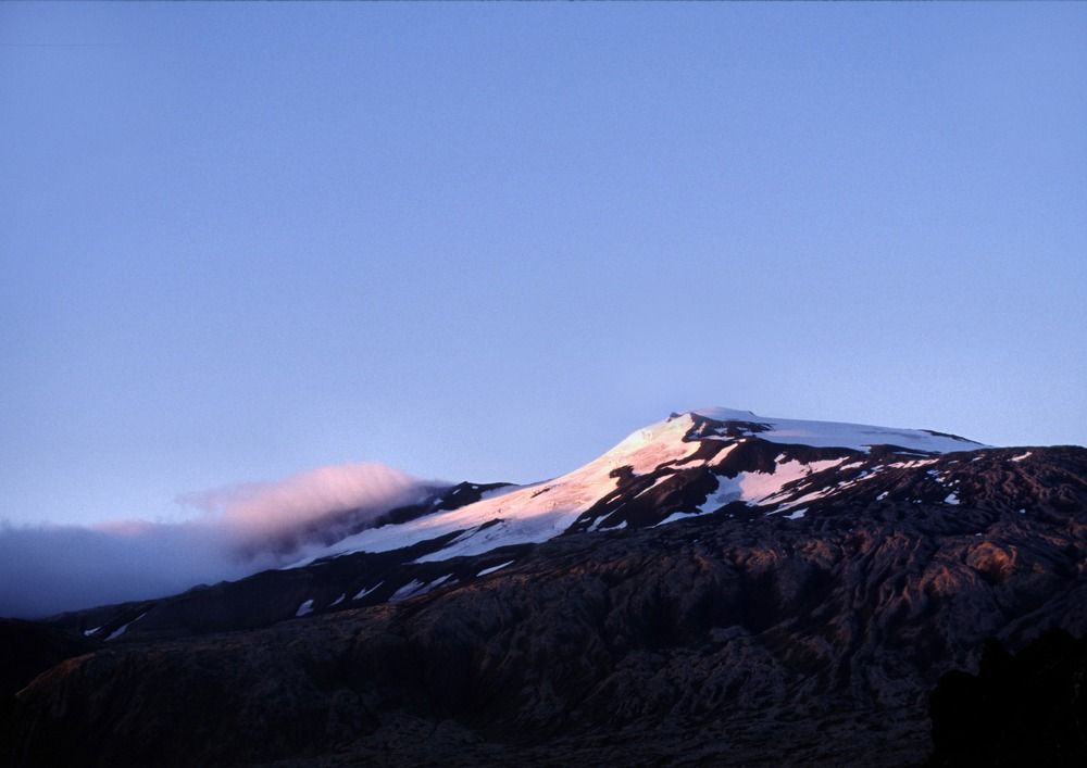 Snaefell at Sunset