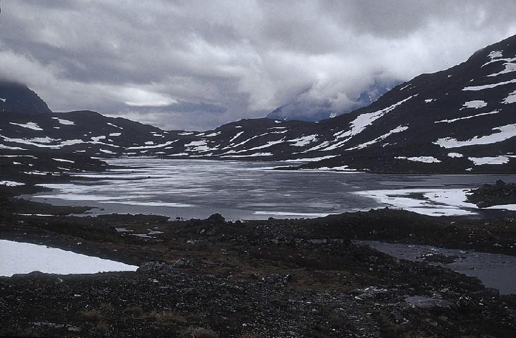 SNAVVAJAURE im Sarek-Nationalpark, Lappland