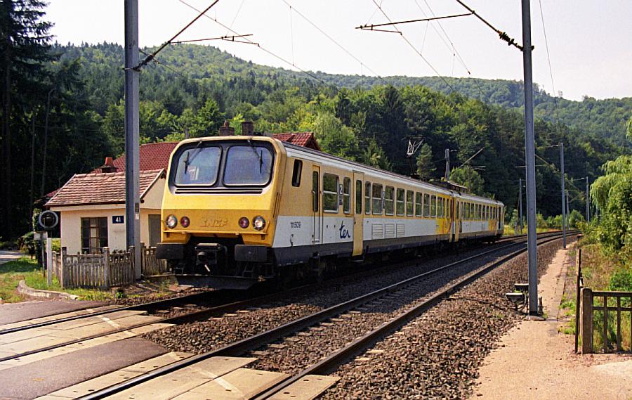 SNCF-Strecke 103 V