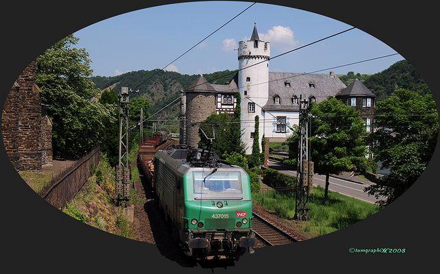 SNCF sur la Moselle - I -