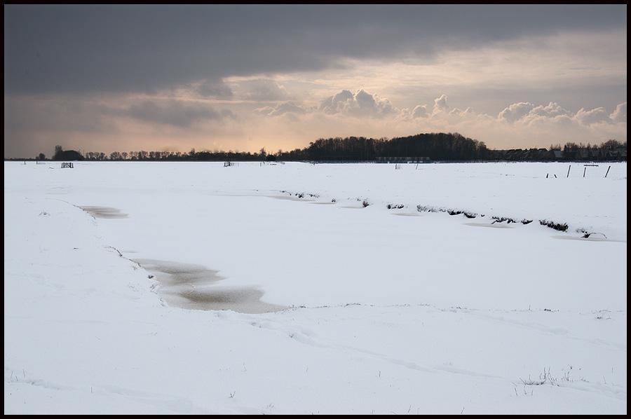 Sneeuwlandschap.
