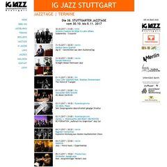 snip Jazztage2017 stgt Plakat
