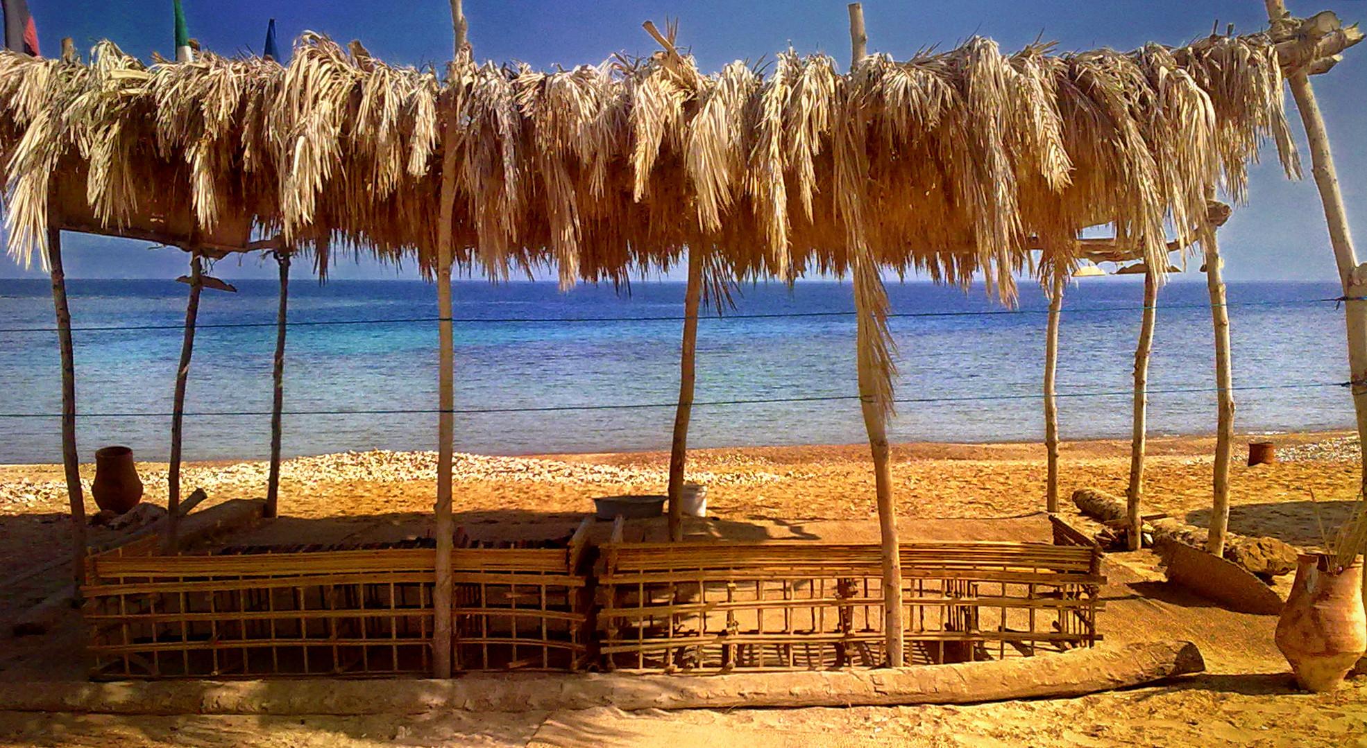 snorkeling beach - egypt