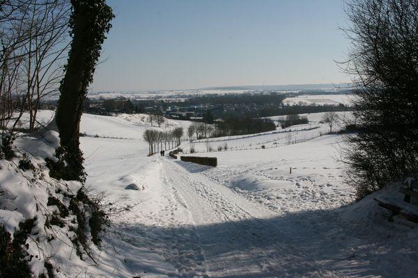 Snow Meets Sun - part 1