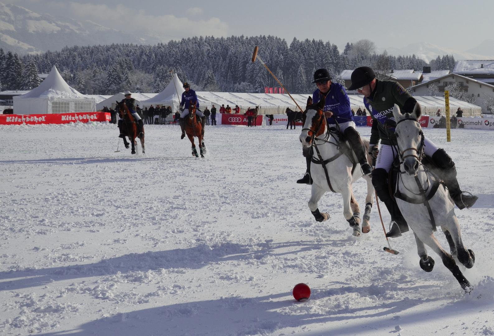 Snow Polo in Kitzbühel 2013