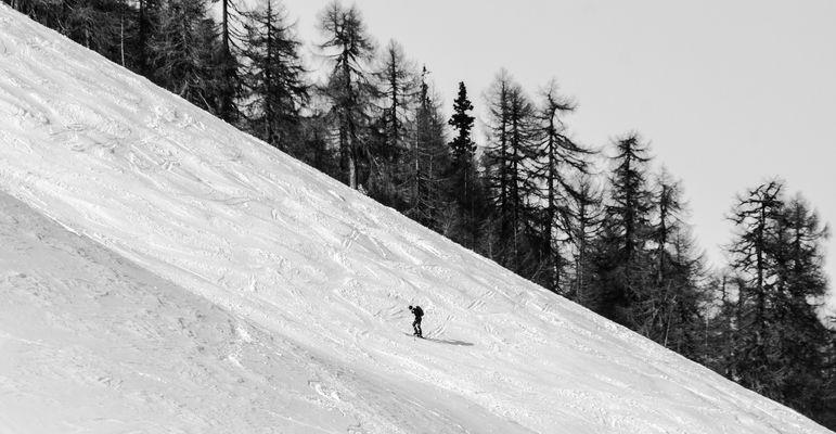 Snow steppin'