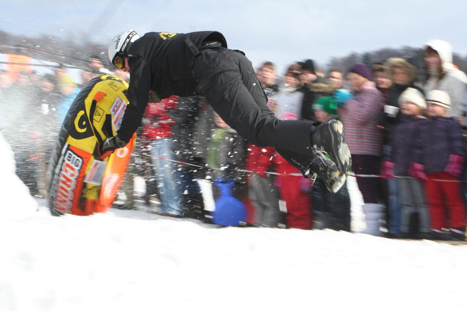 Snow Tube Rennen