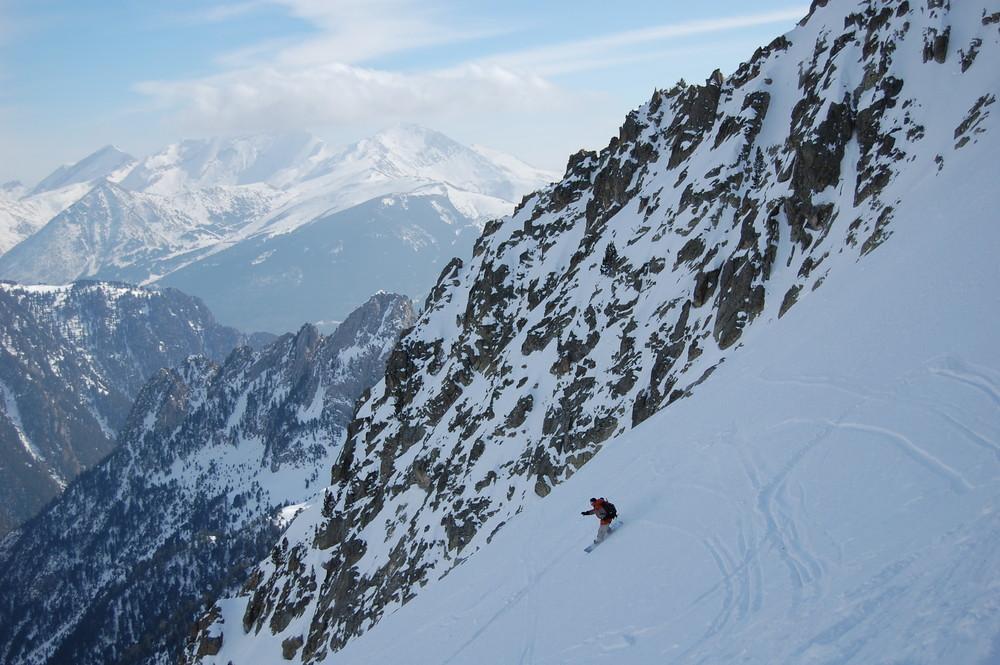 Snowboard aux Posets