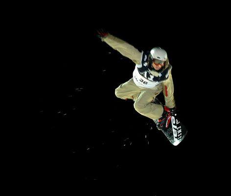 Snowboard BigAir Contest in Salzburg