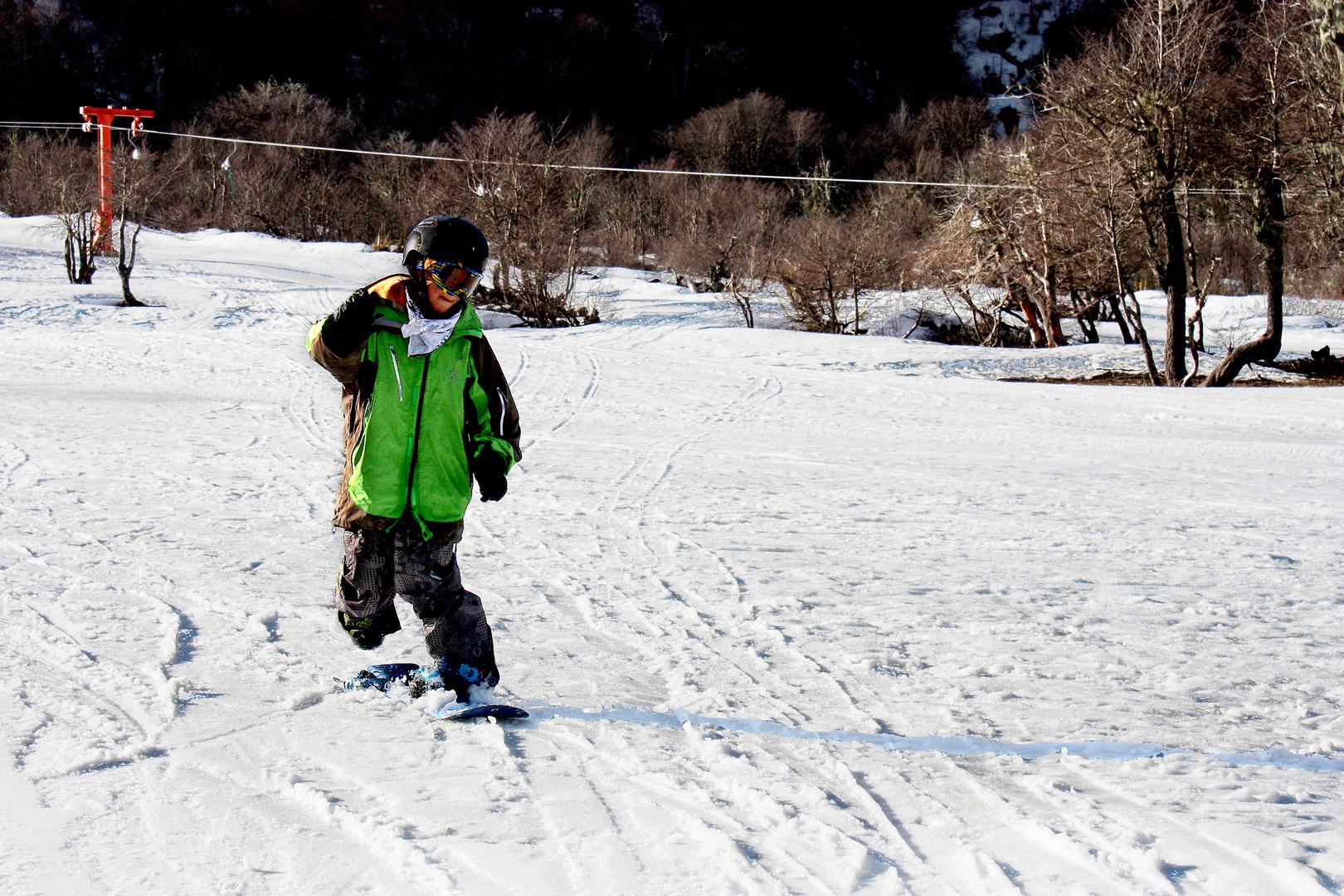 Snowboard en Termas de Chillán
