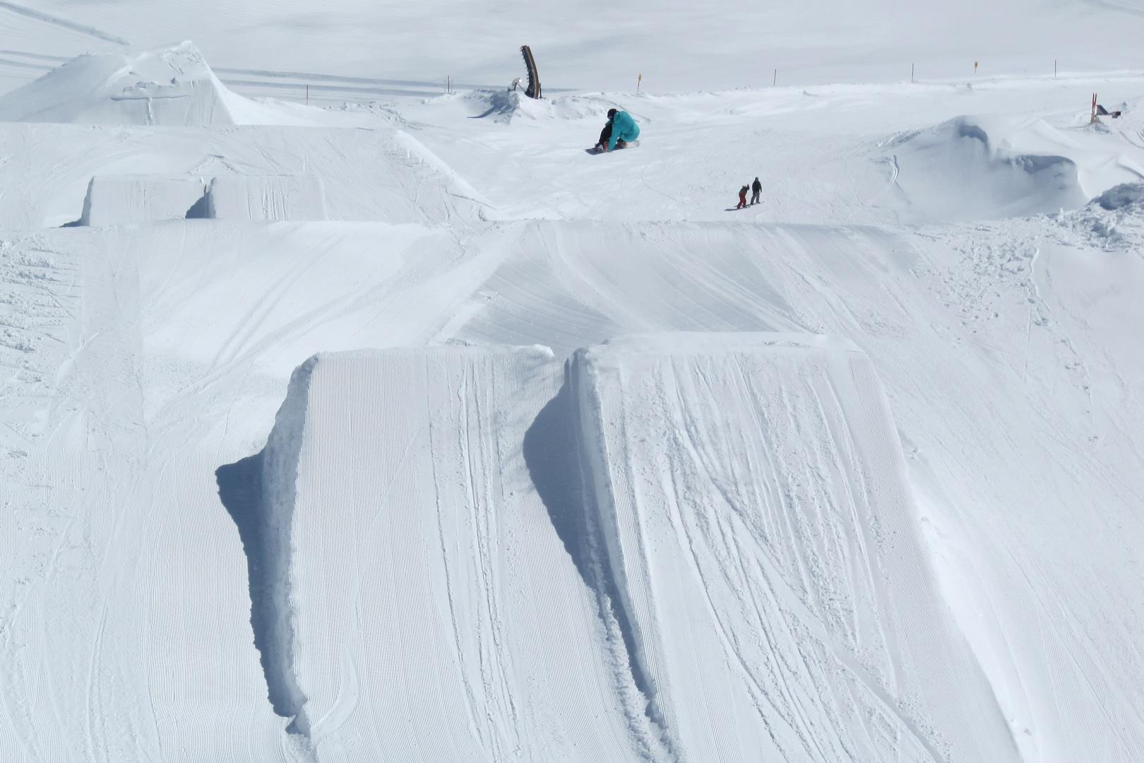 Snowboard-Künstler