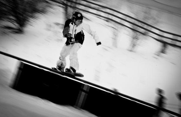 Snowboard - Rail Jam