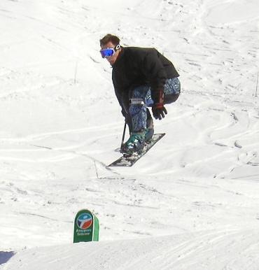 Snowboarder...