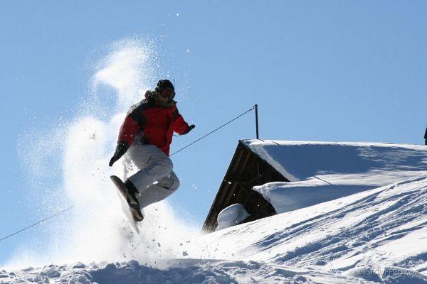 Snowboarder encore...
