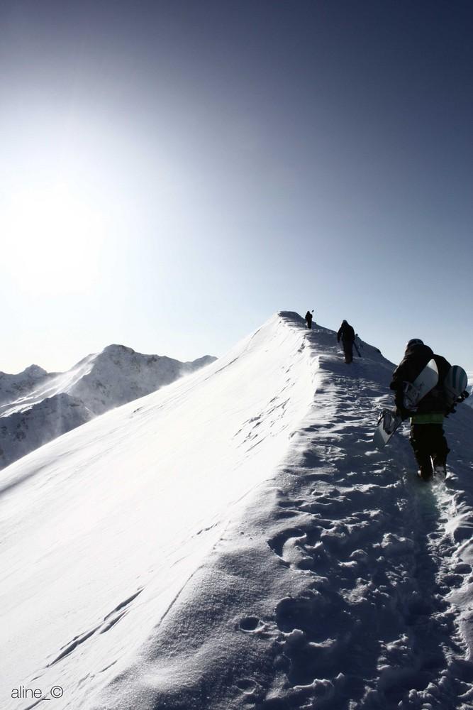 Snowboarding @ tschiertschen