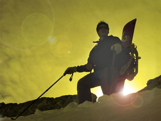 Snowboardtour auf den Oberalpstock